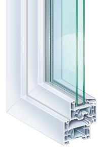 plastové okno Classic 76
